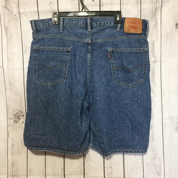 eecb3e0c Levi's Shorts | Levis 550 Relaxed Fit Blue Jean Mens 42 | Poshmark